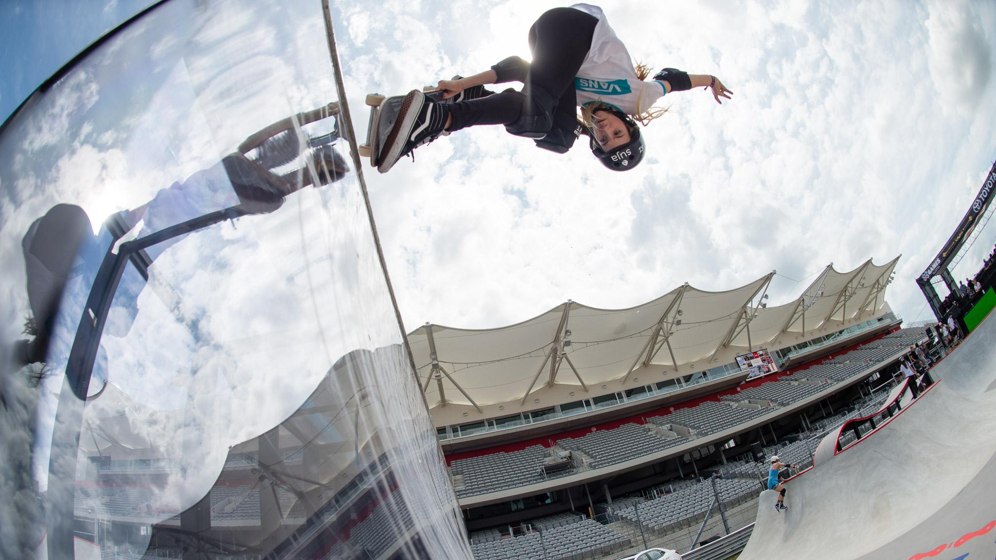 Skateboarding: Brighton Zeuner