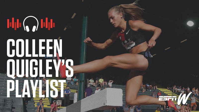 espnW Spotify Playlist - Colleen Quigley