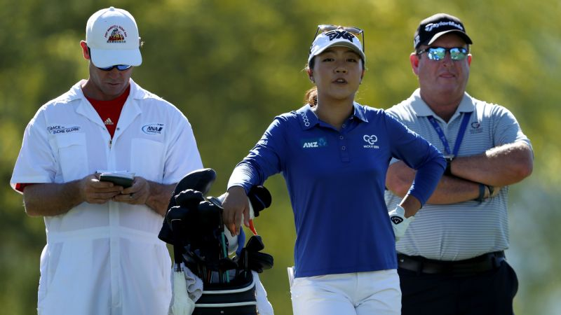 Lydia Ko and Gary Gilchrist