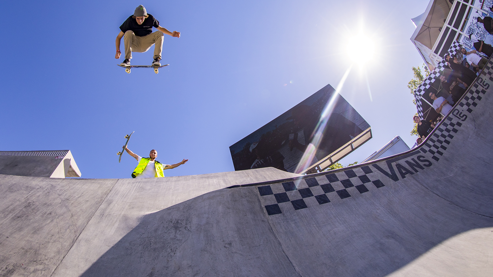 Tom Schaar comes to Minneapolis as a dual threat in Skateboard Big Air and Park.