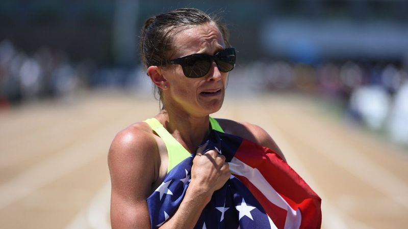 Sara Vaughn, a mother of three and full-time realtor, kicked from way back on the last lap of the 1,500 meters at U.S. nationals to earn the final spot on the world championship team.