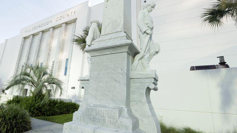 tampa confederate statue