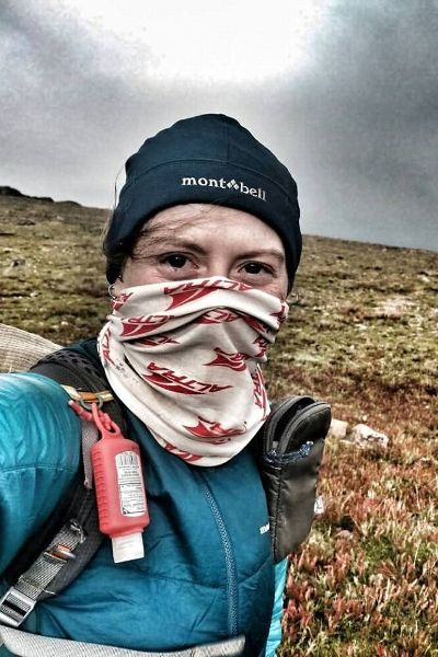 What athletes eat: Long-distance hiker Heather Anderson's veggie curry with red quinoa