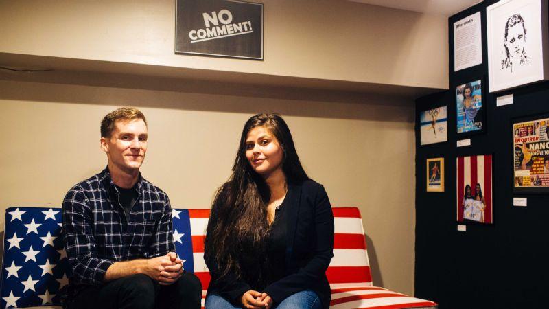 Matt Harkins, left, and Viviana Rosales Olen are the founders of THNK 1994 Museum.