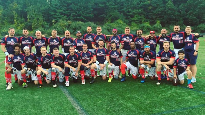 The Boston Hancocks participated in Gay Bowl XVII, the national LGBT flag football tournament of the National Gay Flag Football League (NGFFL).