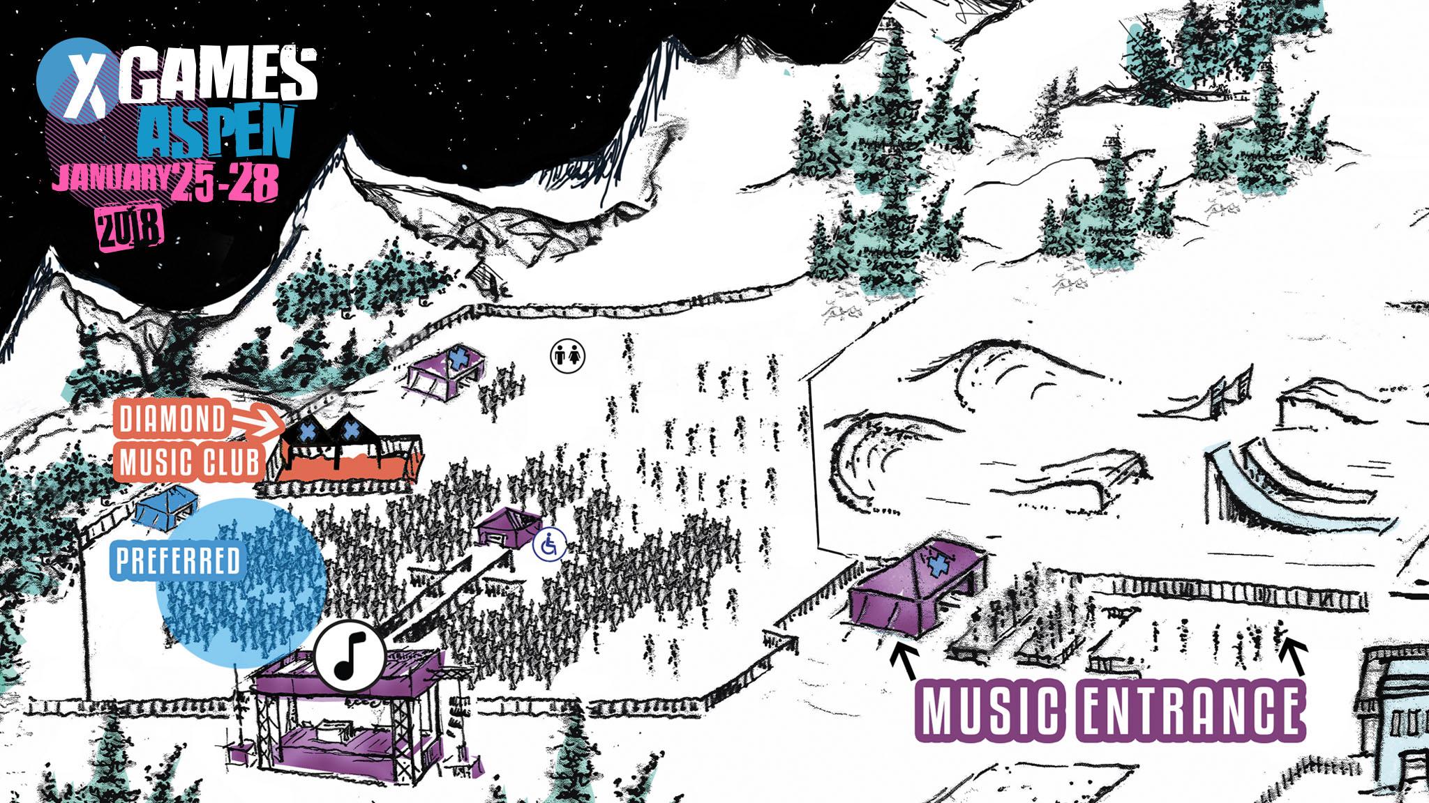 x games aspen 2018 announces music lineup