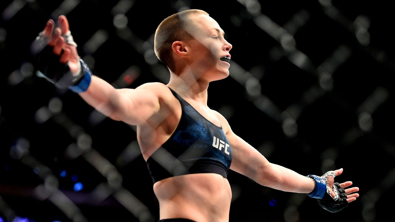 Rose Namajunas defeated Joanna Jedrzejczyk by KO in the first round at UFC 217.