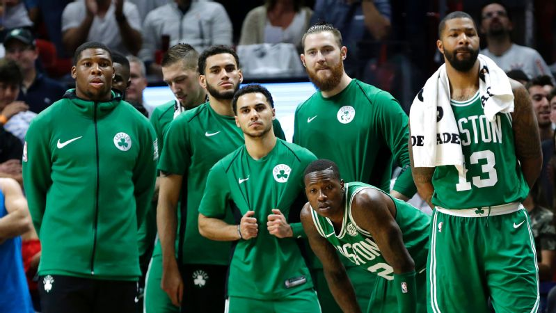 The Celtics' 104-98 loss to the Heat on Wednesday night was their first in 35 days.