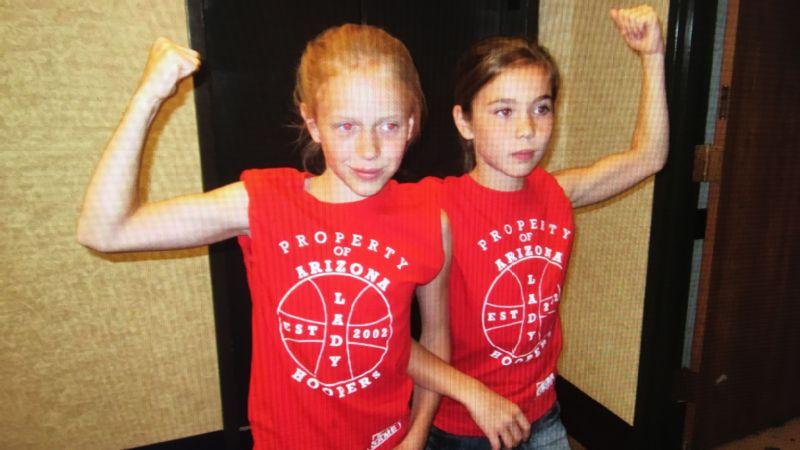 Lindsey VanAllen and Shaylee Gonzales