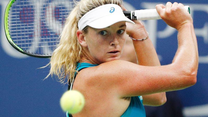 CoCo Vandeweghe advanced to the semifinals of the Australian Open and US Open in 2017 and reached a career-high ranking of No. 10.