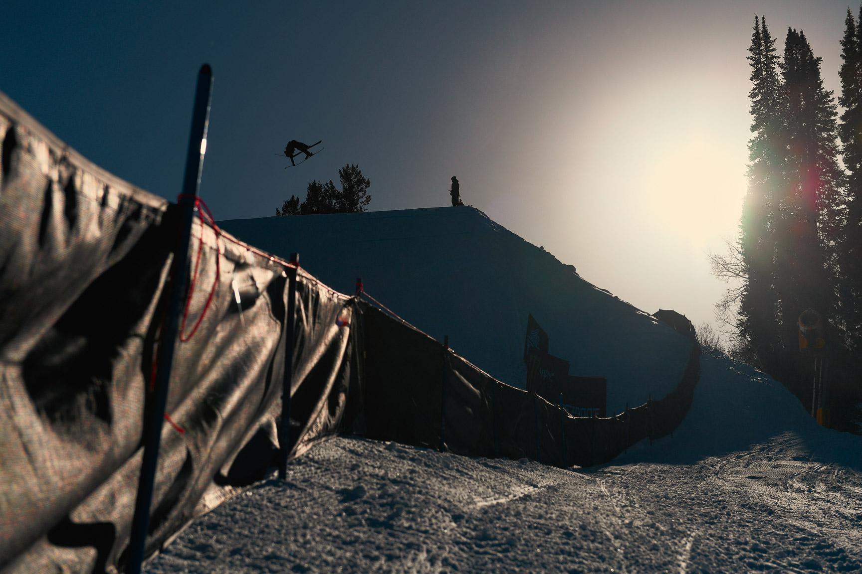 Fabian Boesch, Men's Ski Slopestyle practice