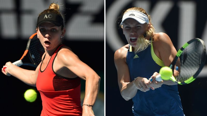 Australian Open: Halep, Wozniacki to clash for first Grand Slam