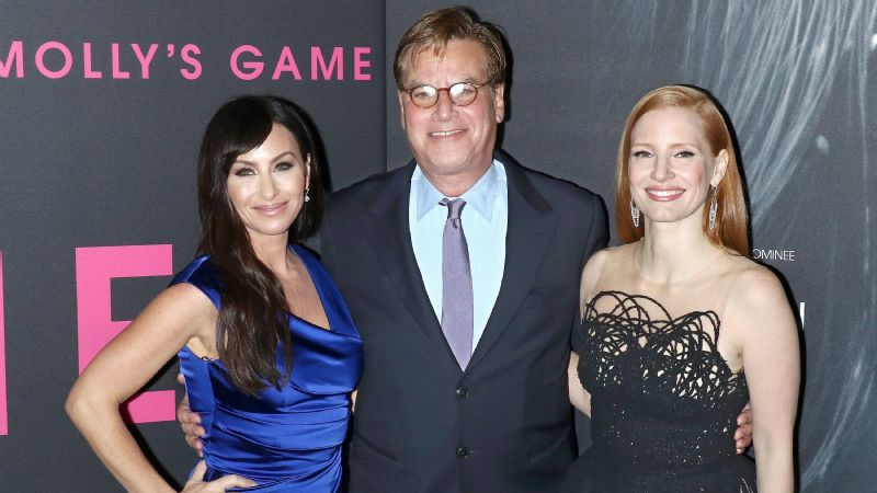 Molly Bloom, Aaron Sorkin, Jessica Chastain