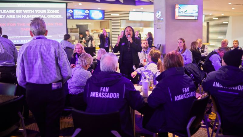 A typical game day lasts 12-14 hours for Toyya Lassere, U.S. Bank Stadium's guest experience manager. But for the Super Bowl, she's planning on being at the stadium for 16-18 hours.