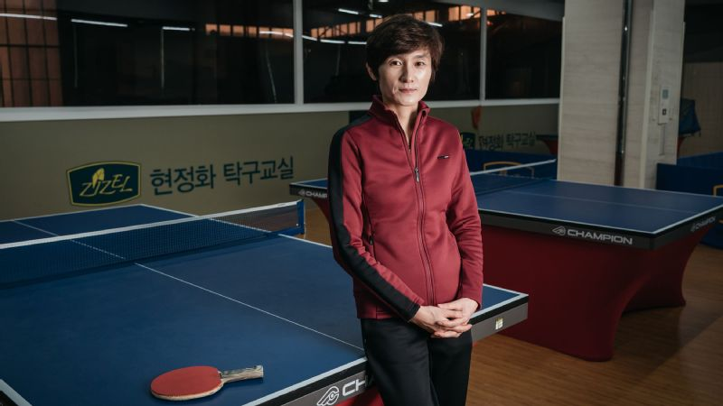 South Korean Hyun Jung-hwa represented a joint Korea team at the 1991 table tennis world championships, alongside Li Pun Hui of North Korea. I believe sports can have political influence, says Hyun. I still believe that.