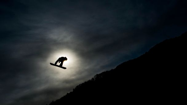 Mark McMorris took flight during practice runs in Pyeongchang, as he did here, and then he soared during competition in the men's slopestyle, earning a bronze.