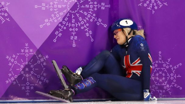 Pyeongchang was supposed to be a place of redemption for double world champion Elise Christie. Instead, she leaves with no medals, an injured ankle and a determination to compete at Beijing 2022.