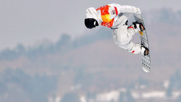 Kyle Mack of the United States takes silver in snowboard big air with a trick he had never landed before.