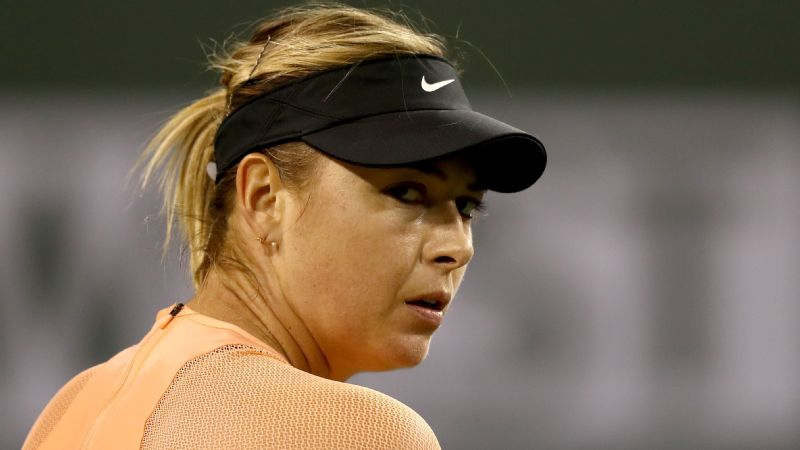 Since reaching the third round of the Australian Open Maria Sharapova has dropped her past two first-round matches