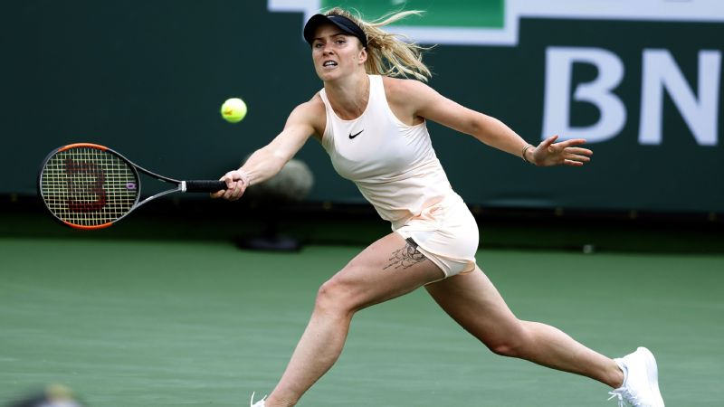 Since the start of 2017, no one has won more titles than Elina Svitolina.