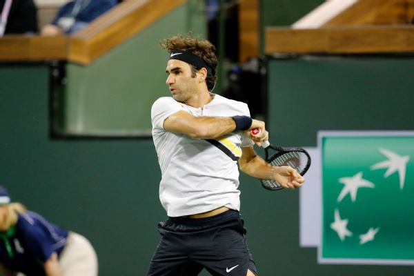Roger Federer can equal his season-best start of 16-0 with a win in the quarterfinals.