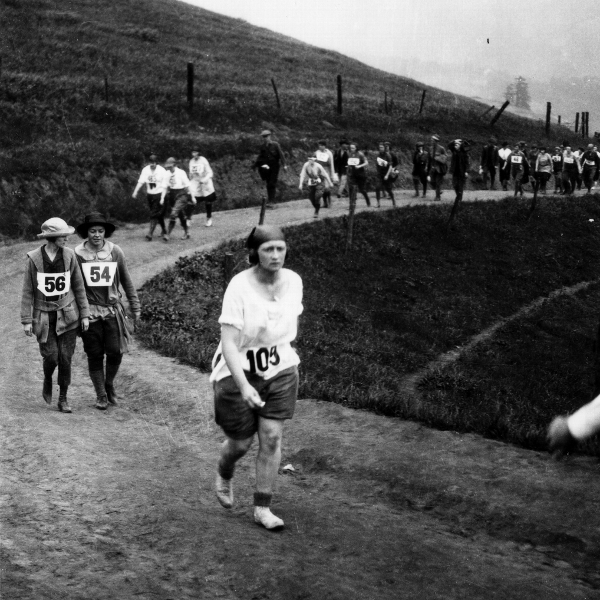 The race was called a hike to get around the rules banning women from distance races.