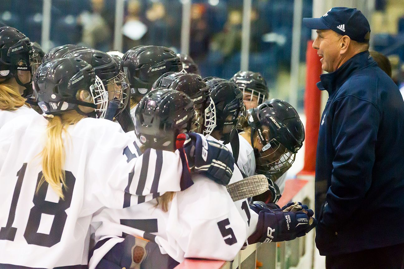 Middlebury coach Bill Mandigo has been guiding the Panther women for 30 seasons.