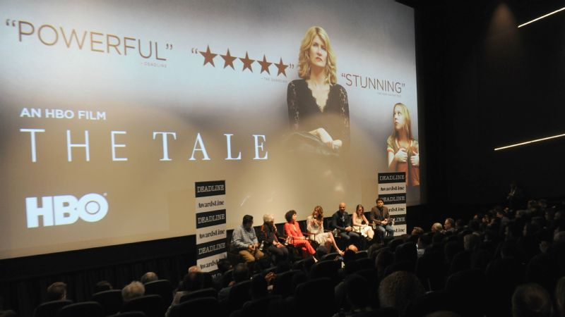 HBO's The Tale stars Laura Dern as Jennifer Fox, who in adulthood grapples with a sexual relationship she had with a coach when she was in middle school.