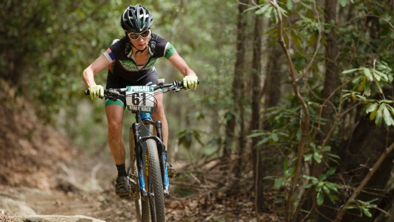 Cassie Smith has won three USA Cycling Mountain Bike national age-group championships, including one in 2017.