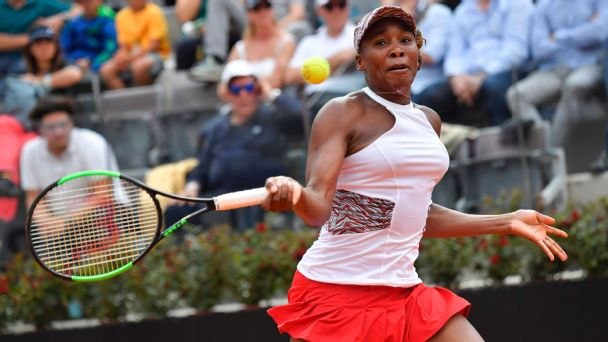 Venus Williams has won just a single clay-court match this season.