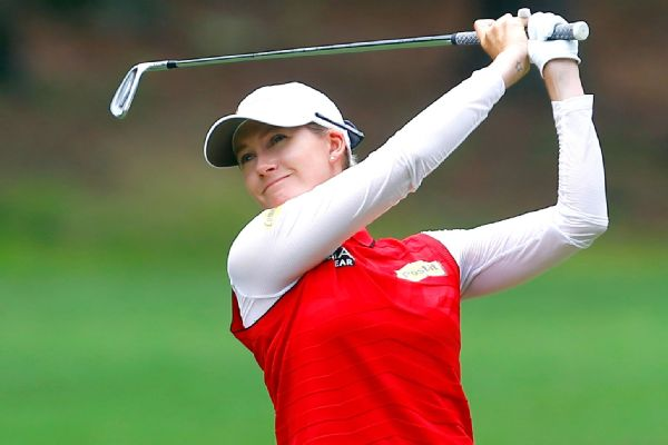 After failing to make the cut in five of her previous six U.S. Women's Open tries, Australia's Sarah Jane Smith finds herself atop the leaderboard at this year's tournament at 10-under through two rounds of play.