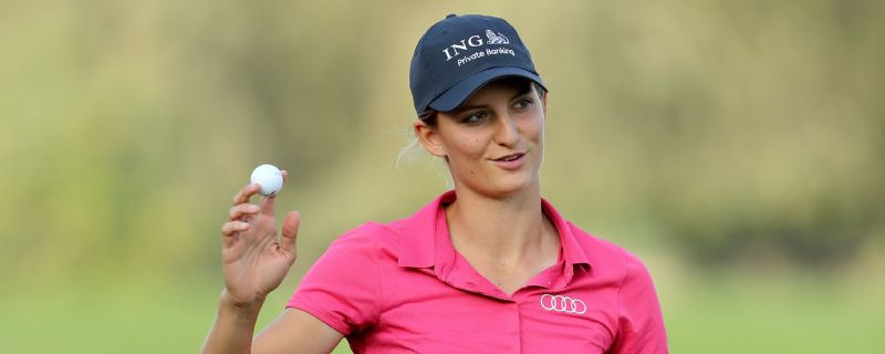 Anne Van Dam is a rising star of the Ladies European Tour having won the 2016 Xiamen International Ladies Open.