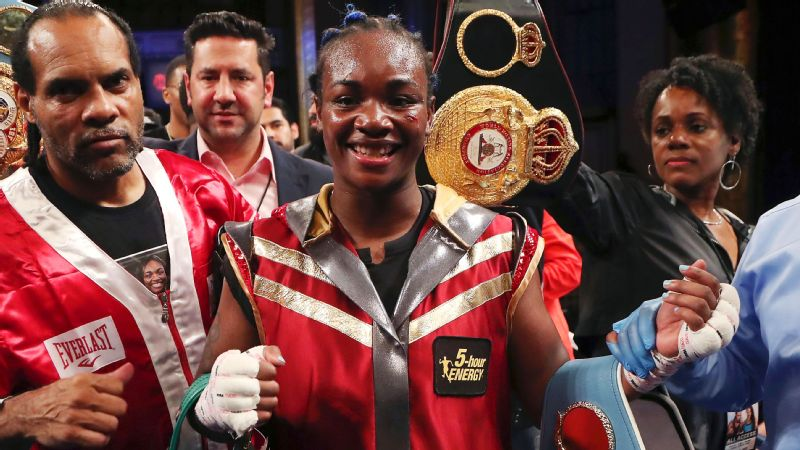 Claressa Shields already owns two middleweight world titles and is looking to become the undisputed champion.