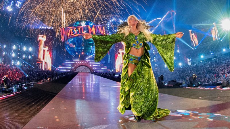 Charlotte Flair 2017 WrestleMania 33