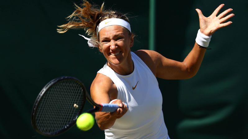 Victoria Azarenka is a two-time semifinalist at Wimbledon.