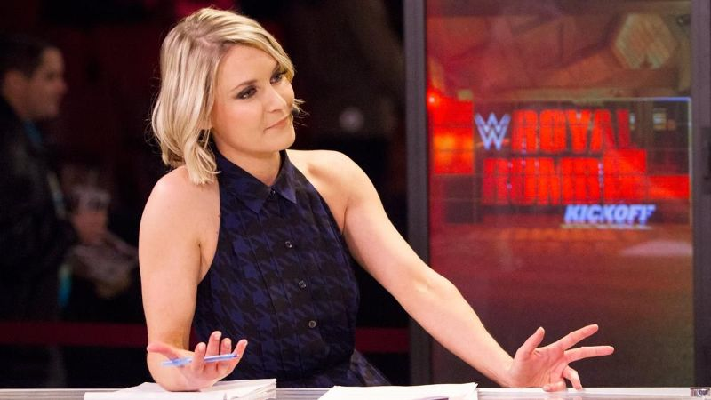 Renee Young has served in a variety of WWE broadcast positions since 2012, including her role as the primary host for all of WWE's pay-per-view kickoff shows.
