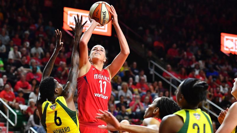Elena Delle Donne's Mystics got swept in the WNBA Finals, but it's hard to look at their season as anything but a success.