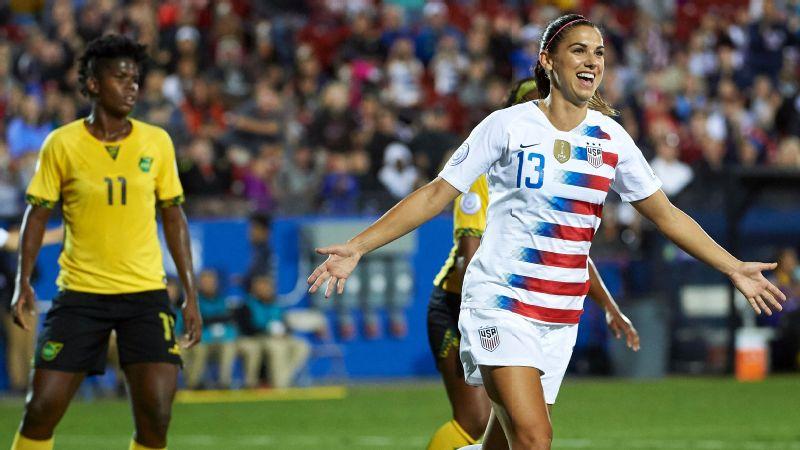 USA vs. Jamaica (Alex Morgan)