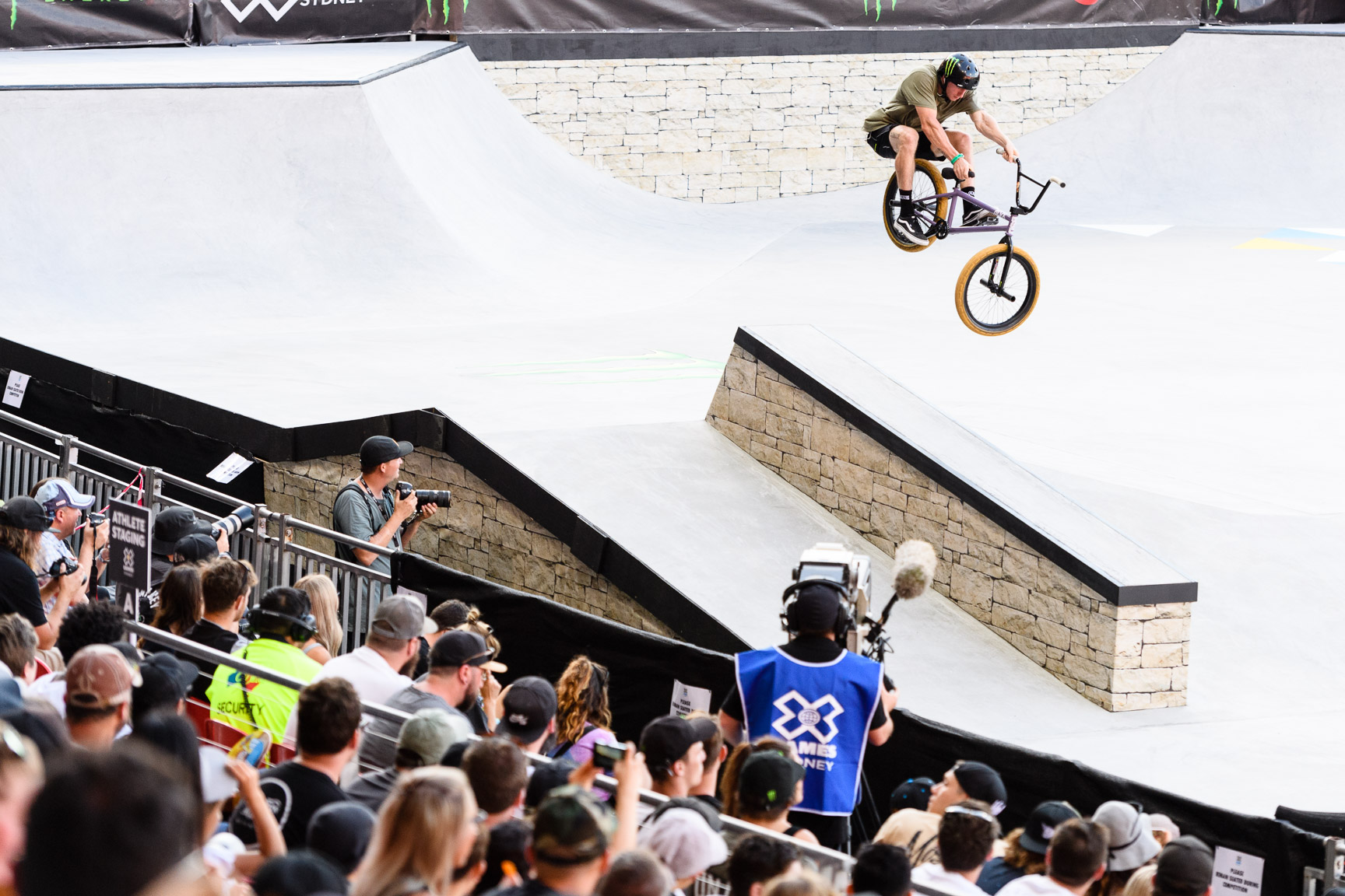 Alex Donnachie, BMX Street Final