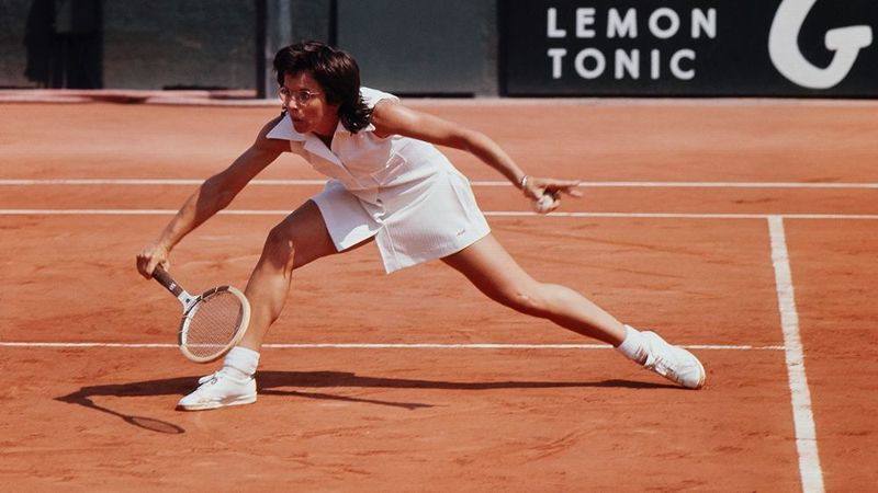 King defeated Evonne Goolagong in the final to win the 1972 French Open women's singles title.