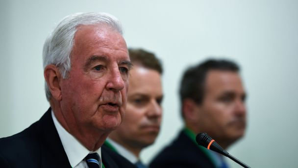Sir Craig Reedie responded to criticism from James Carroll and Travis Tygart at the WADA international media symposium in London.