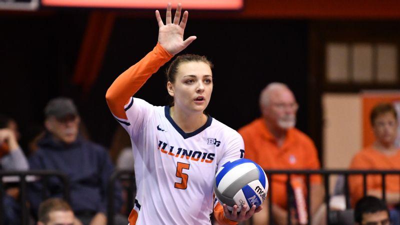 Illinois volleyball