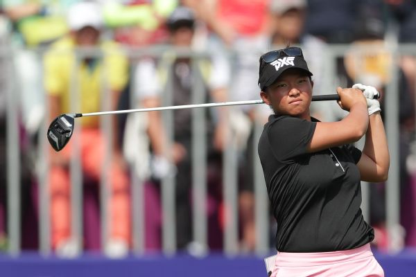 American Megan Khang is hopeful her patience pays off, eventually