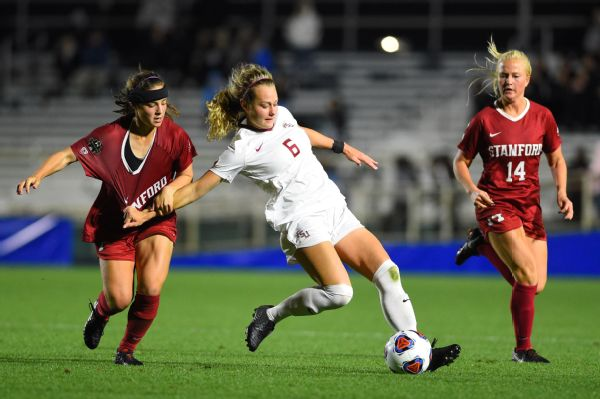 Stanford could not stop Jaelin Howell, center, and Florida State in the semifinal.