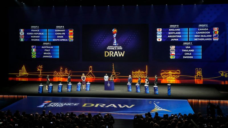 Women's World Cup final draw