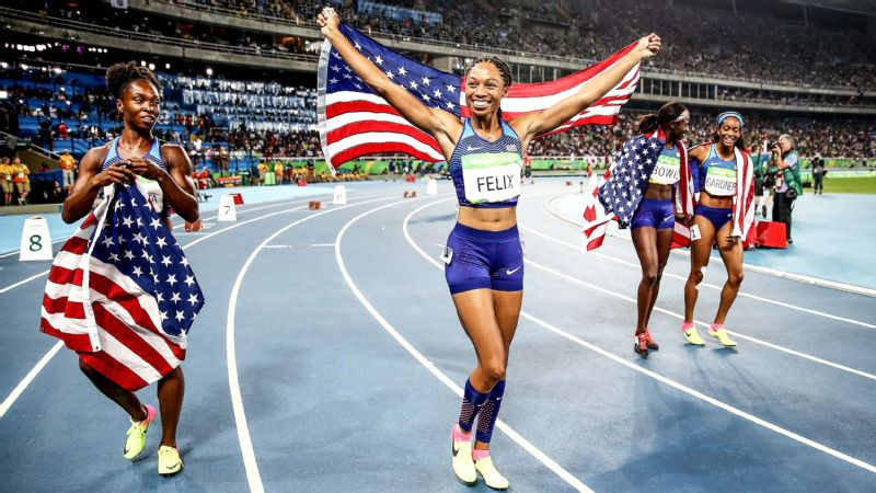 Olympic gold-medalist Allyson Felix opens up about pregnancy and motherhood.