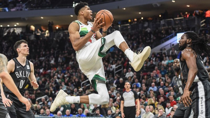 Giannis Antetokounmpo can do things with his body that basically don't make sense ... maybe he deserves a new nickname.