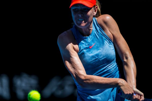 Maria Sharapova faced only one break point en route to a  6-0, 6-0 win over qualifier Harriet Dart in Monday's Australian Open first round.