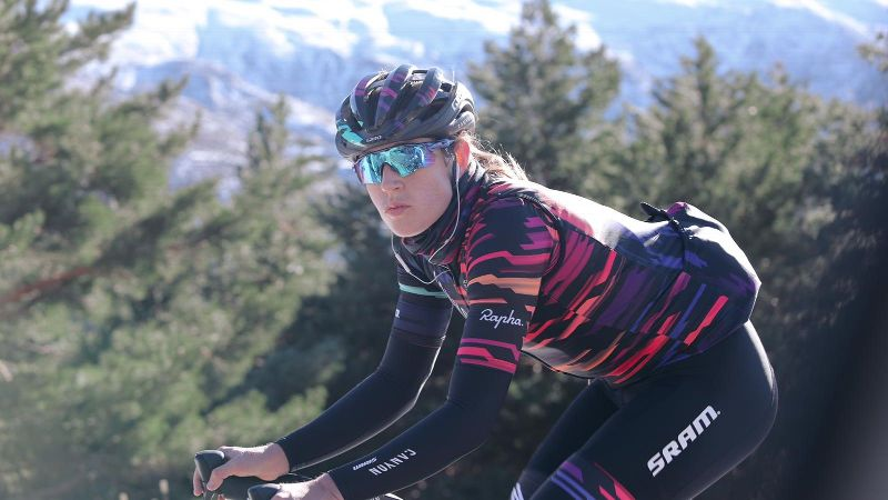 Tanja Erath was a triathlete first, but she switched to bike racing in 2016. That same year, a friend told her about Zwift -- a virtual training game that could land her a contract with the Women's WorldTour cycling team Canyon/SRAM.