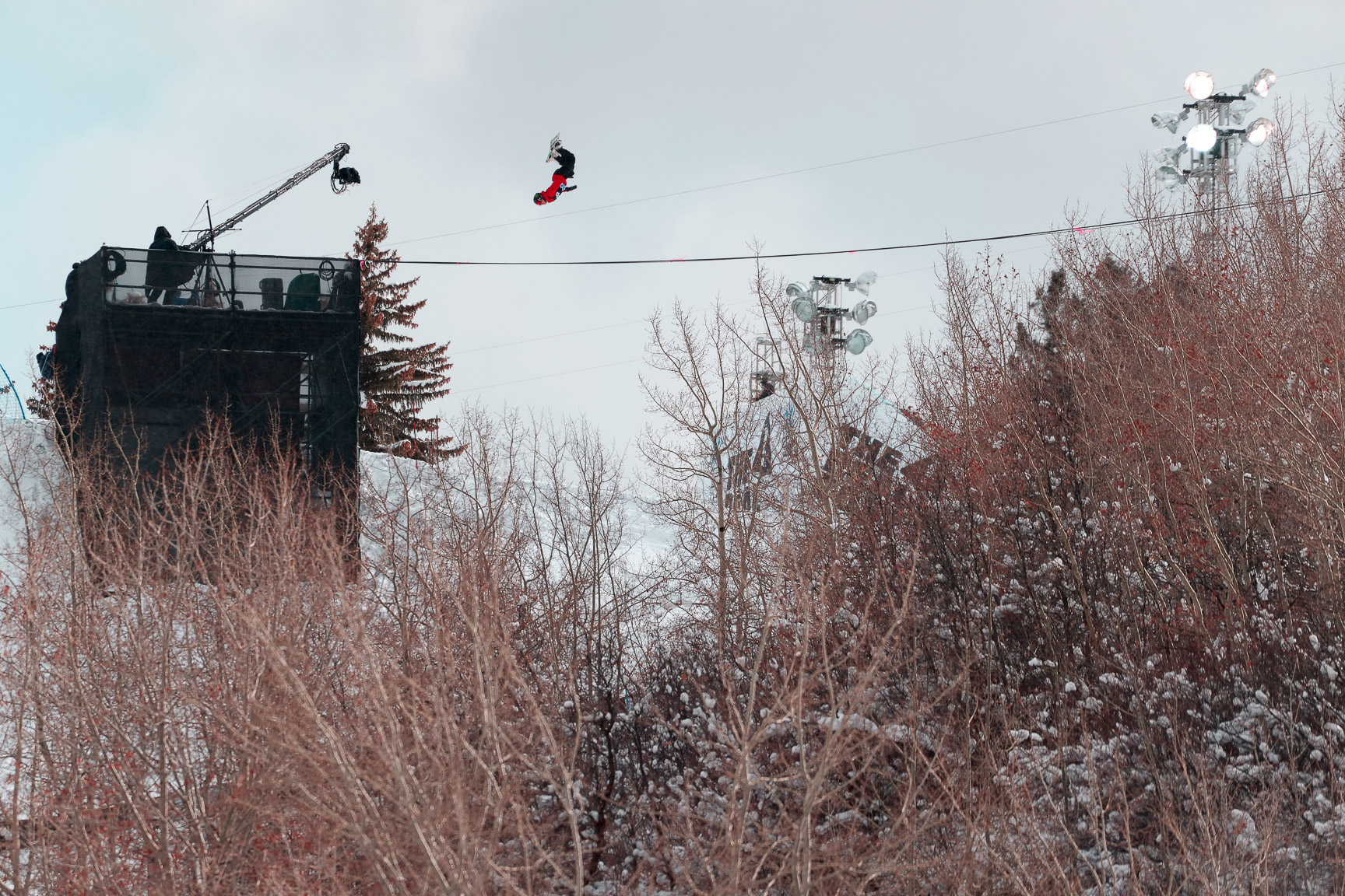 Rene Rinnekangas, Snowboard Big Air Elimination